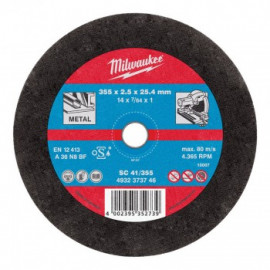 Отрезной диск MILWAUKEE по металлу SC 41 4932451505