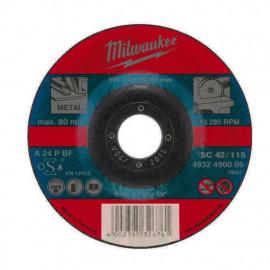 Отрезной диск MILWAUKEE по металлу SC 42 / 115 X 3 X 22.2 мм 4932451495