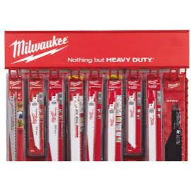 Дисплей MILWAUKEE Red Rack полотна SAWZALL 4932352647