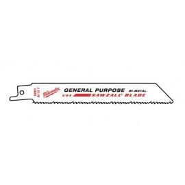 Полотно для сабельной пилы MILWAUKEE GP 150х3,2/2,1 48016091