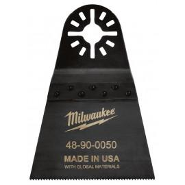 Полотно для мультитул 64мм для резки металла, дерева, пластика и фибергласса MILWAUKEE 48904050