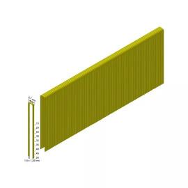 Скобы покрытые смолой, гальванизированные MILWAUKEE 18G/15 мм RC G-P9200 для M18FNCS18G 4932478389