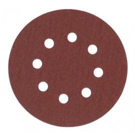 Шлифовальная бумага MILWAUKEE ? 125 мм зерно 120 25 шт 4932371398