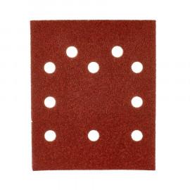 Шлифовальная бумага MILWAUKEE 115x140 зерно 240 (10 шт.) 4932430821