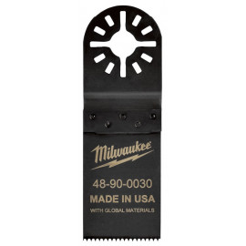 Полотно для мультитул 32мм для резки древесины и ПВХ MILWAUKEE 48904030