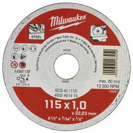 Отрезные диски по металлу SCS 41 MILWAUKEE 4932451475