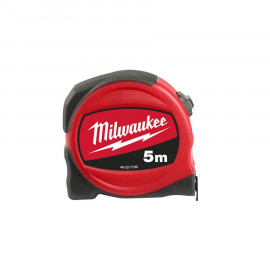 Рулетка MILWAUKEE SLIM 5 м / ширина 25 мм 48227706