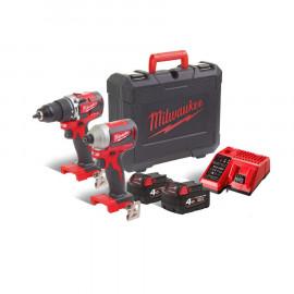 Набор инструментов MILWAUKEE M18 CBLPP2A-402C 4933464536