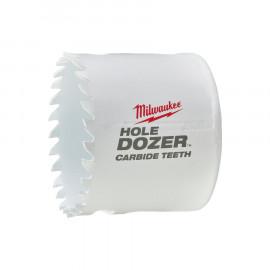Биметаллическая коронка MILWAUKEE HOLEDOZER CARBIDE 57 мм 49560724