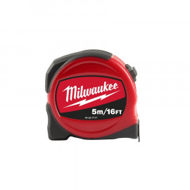 Рулетка MILWAUKEE SLIM 5 м-16 фт / ширина 25 мм 48227717