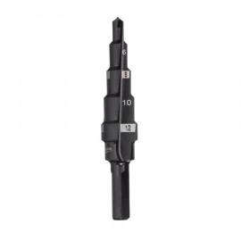 Сверло ступенчатое MILWAUKEE 4-12 мм шаг 2 мм 48899302