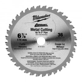 Диск для циркулярной пилы по металлу F MILWAUKEE 48404070